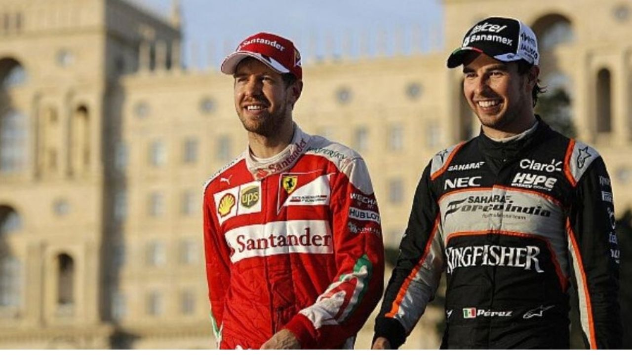 """I'm in a similar position compared to him"" - Sergio Perez and Sebastian Vettel on debut with Red Bull and Aston Martin"