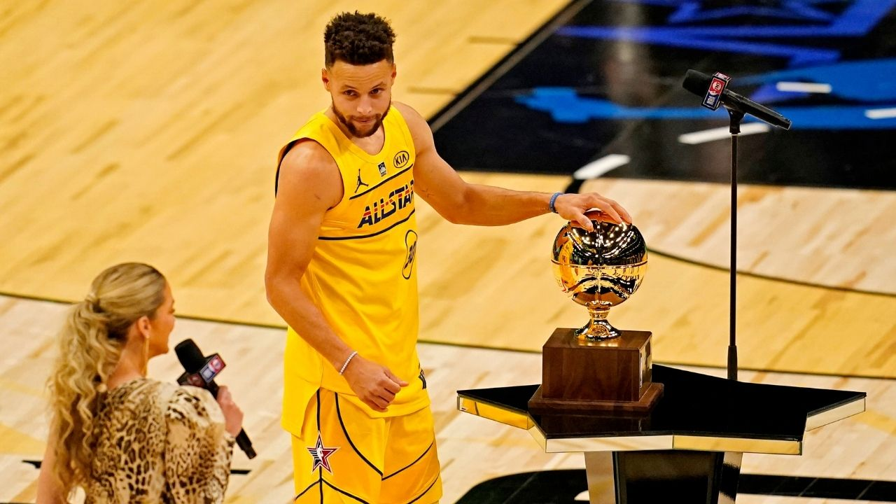"""""""Stephen Curry pulled a Larry Bird in the 3-point contest"""": Warriors superstar reveals to Reggie Miller why he was uber-confident ahead of his win"""