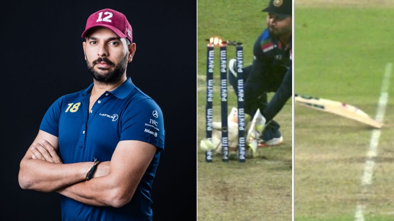 """""""That was out"""": Yuvraj Singh tweets on Ben Stokes run-out appeal as English all-rounder manages to survive"""