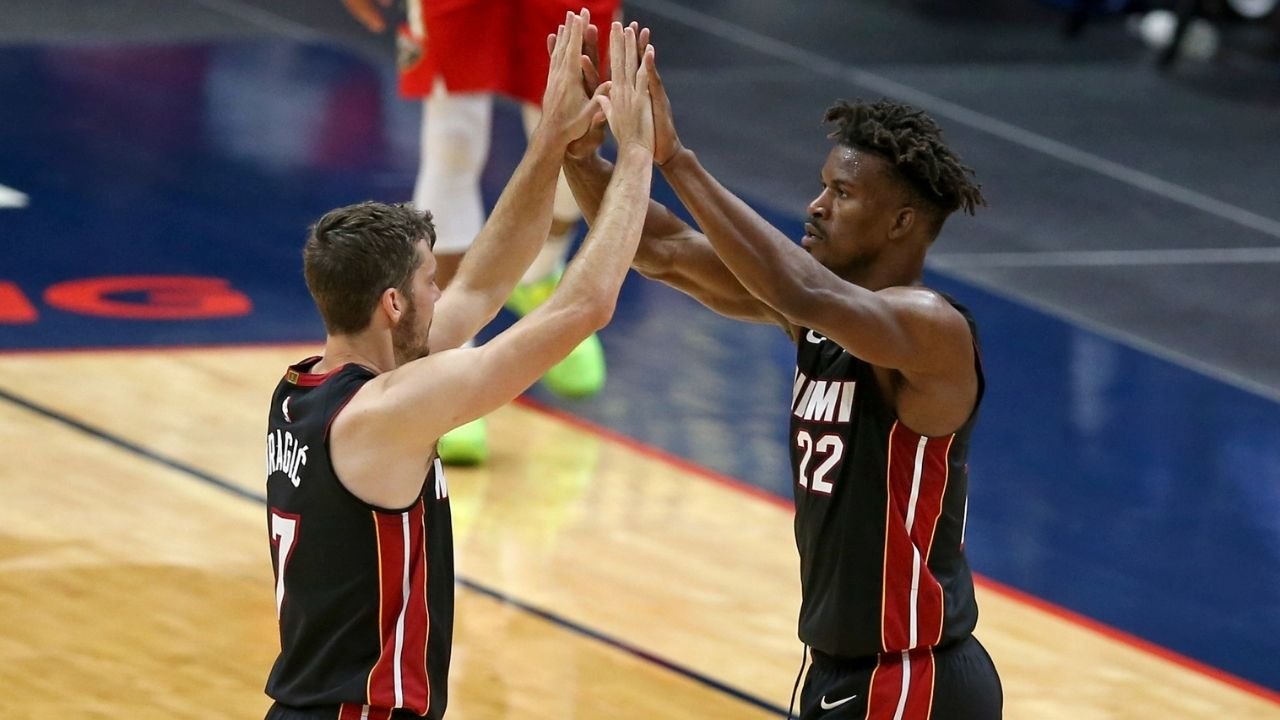 """""""Jimmy Butler is having an MVP-level impact"""": Crazy on-off rating differential reveals how the Heat star is spearheading them to another playoff run"""