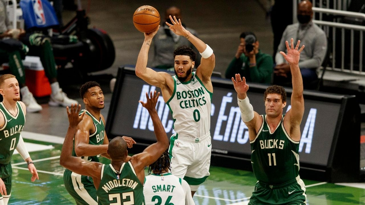"""Kendrick Perkins rips Jayson Tatum and co apart for lack of effort: """"The Boston Celtics need to stop complaining about calls and get back on defense!"""""""
