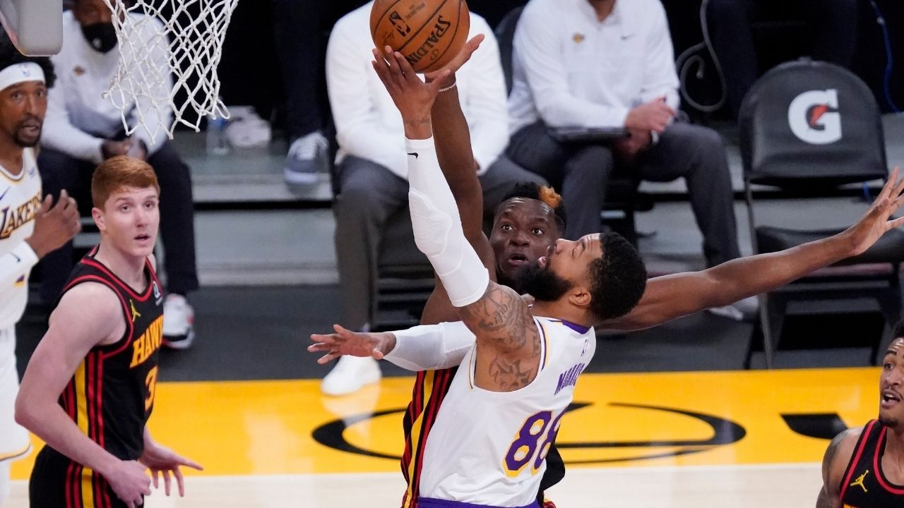 """Atlanta Hawks were a trap game for the Lakers"": Markieff Morris makes excuses for his team's loss after they lost LeBron James to injury"