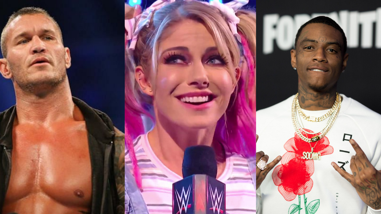 Alexa Bliss reacts to twitter feud between Randy Orton and Soulja Boy