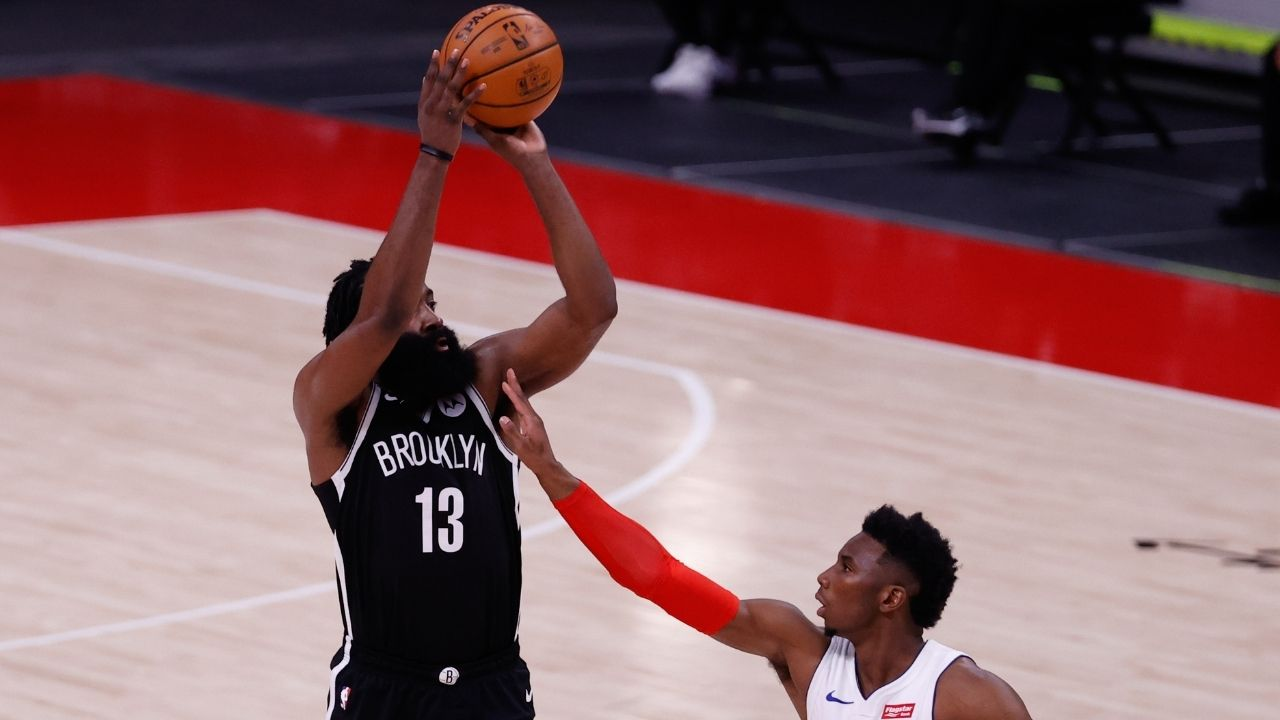 """I believe I am the MVP"": James Harden is bullish about his chances at the Maurice Podoloff trophy after leading the Nets to a clutch win over Detroit"