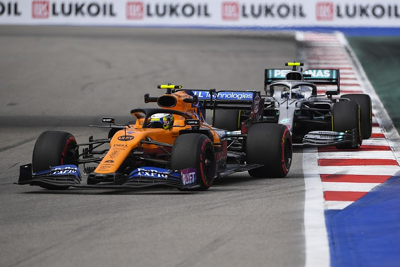 """""""Very productive between us and the Merc guys"""" - Lando Norris on McLaren switch from Renault to Mercedes"""