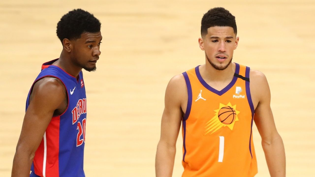 Devin Booker admits to catching players with poop in their shorts during games: 'I've seen a few white shorts with accidents on their backside'