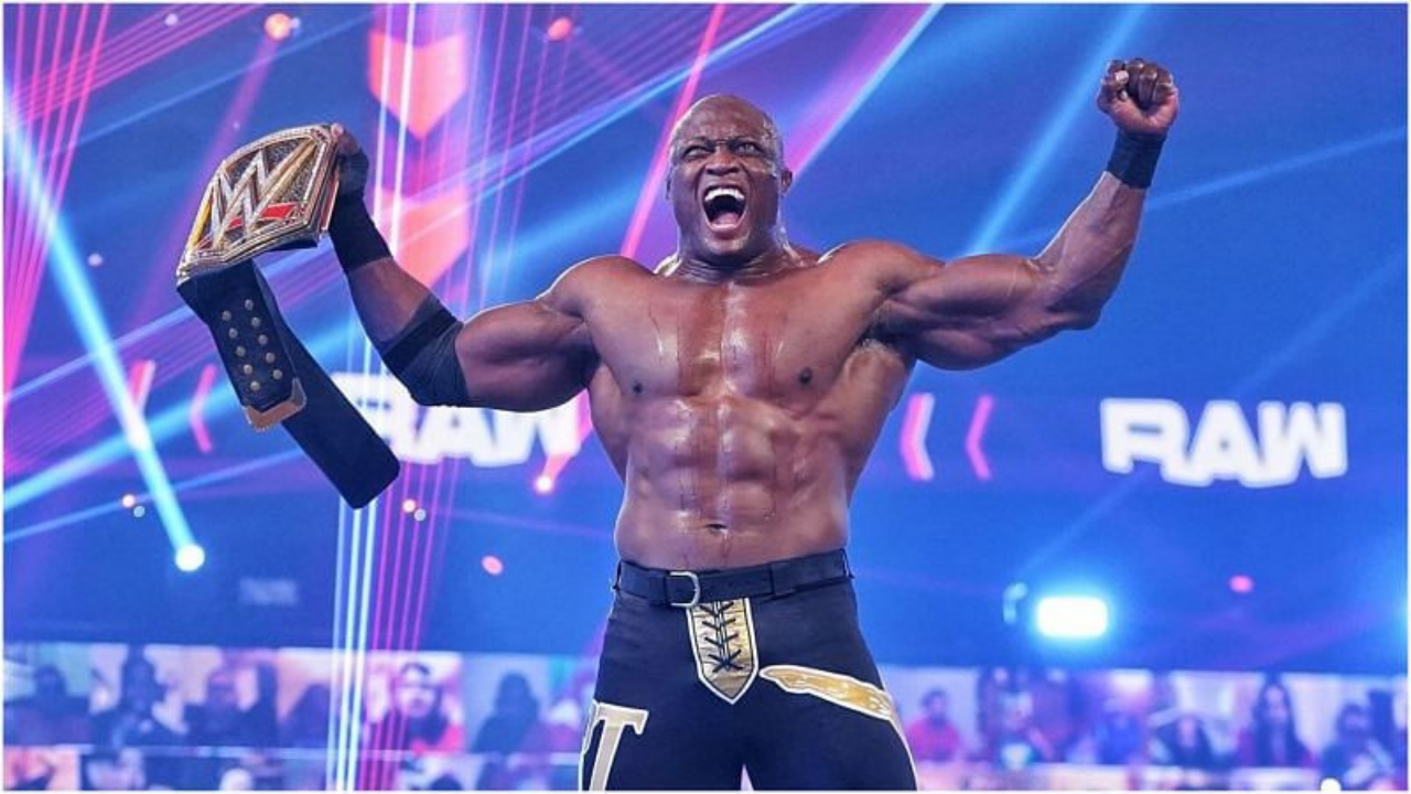 Bobby Lashley calls out Brock Lesnar after winning WWE Championship