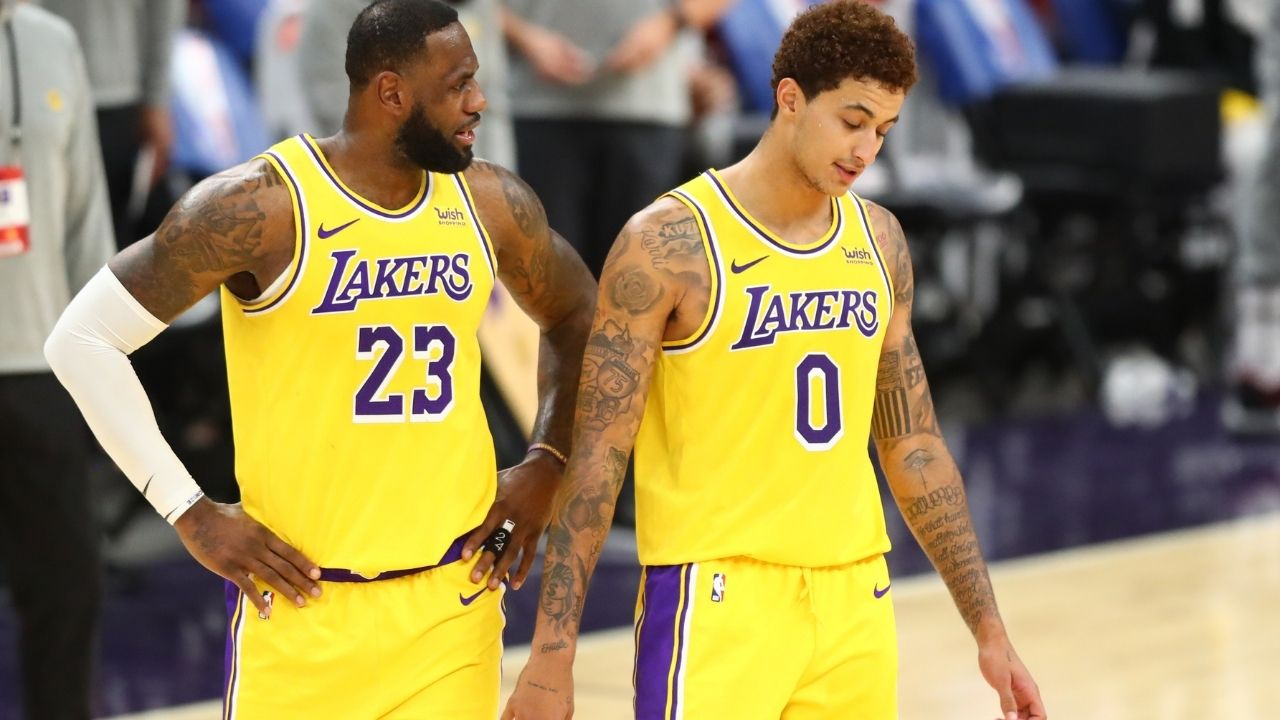 'LeBron James needs to make the all defensive team': Kyle Kuzma launches campaign for Lakers star's selection after painful snub last season