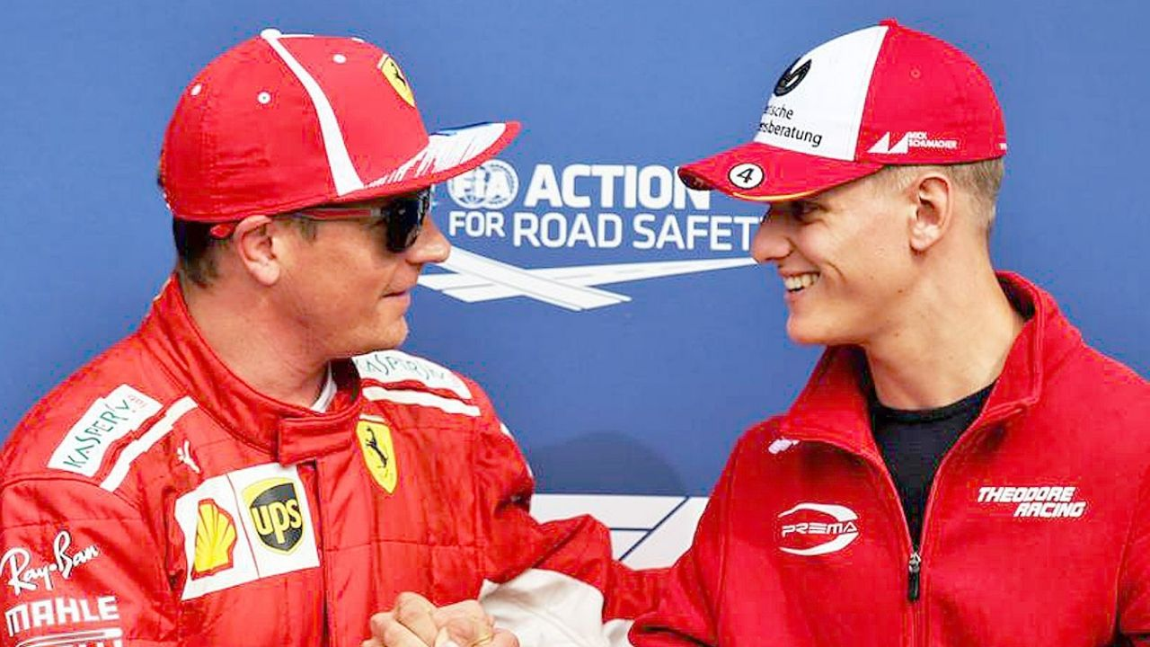 """""""He's not in F1 because of his second name""""- Kimi Raikkonen clears Mick Schumacher of nepotism"""