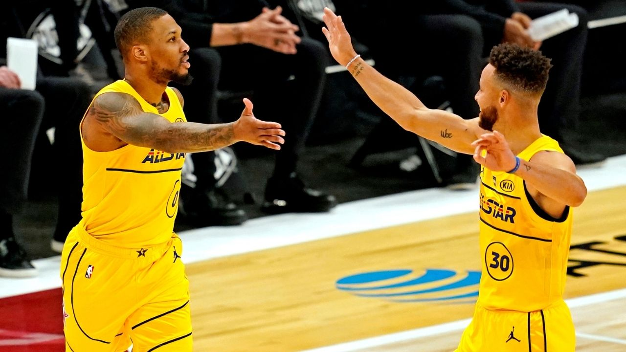 """""""Damian Lillard and Steph Curry are better suited for the All-Star Game, not the Playoffs"""": Skip Bayless trolls himself yet again with another terrible 'take'"""