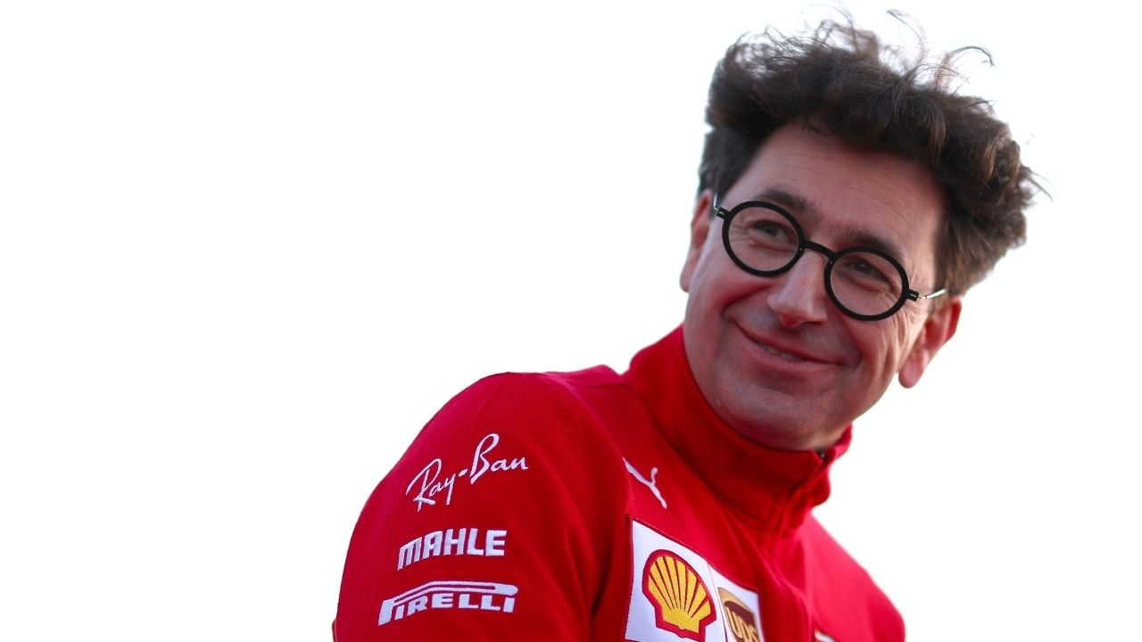 """I'm happy to be able to count on both of them finally""- Mattia Binotto's sly dig on Sebastian Vettel"