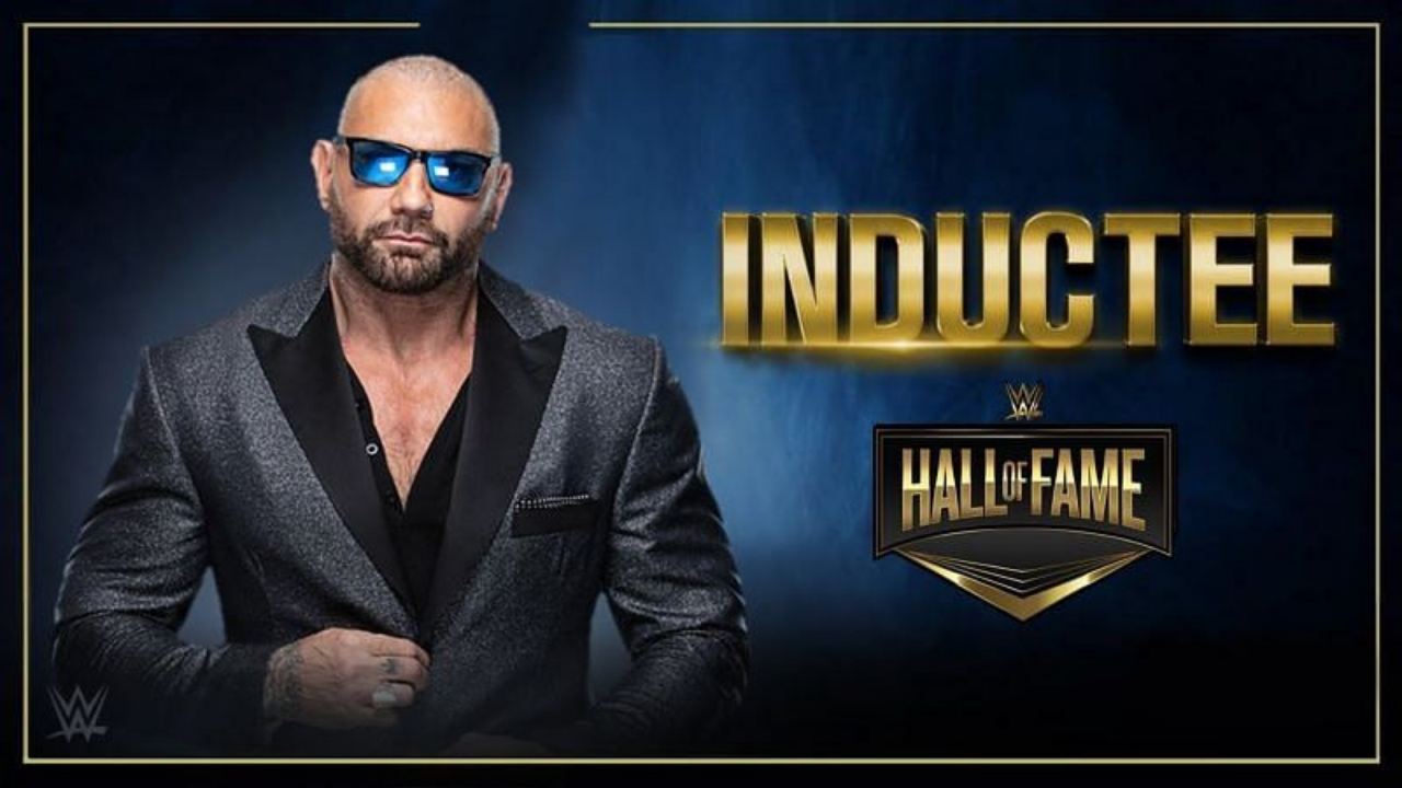 Reason why Dave Batista will not be inducted in the WWE Hall of Fame this year revealed