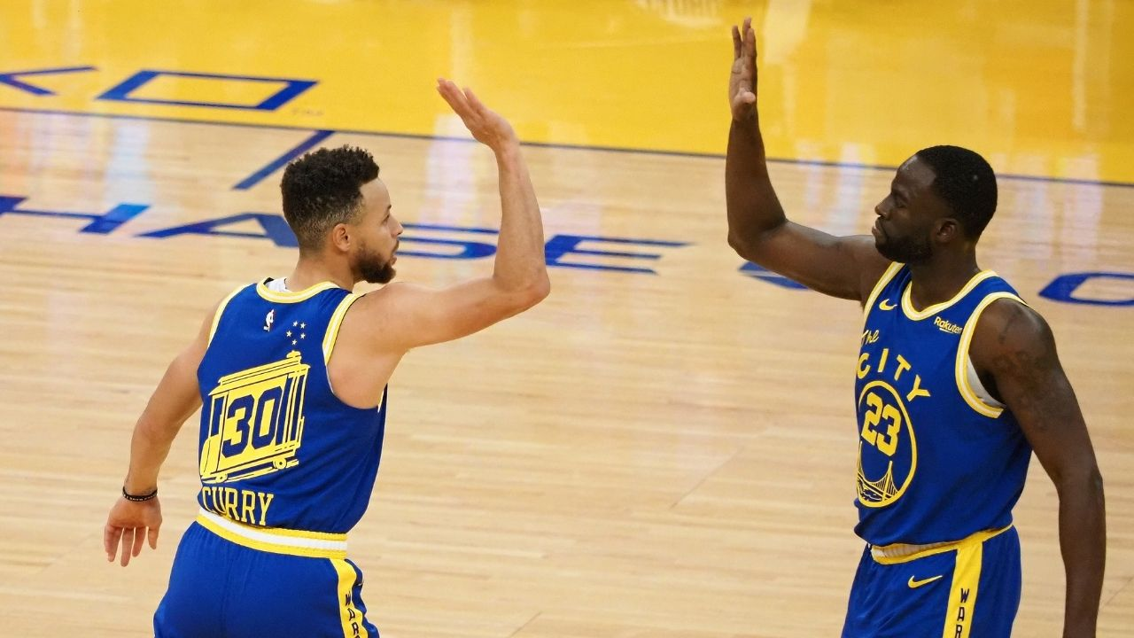 """""""Stephen Curry told us to 'get into the ball' in the huddle the other day"""": Draymond Green explained how the Warriors legend's recent furious reaction motivated the team"""