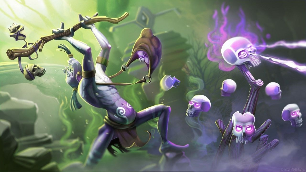 Dota 2 Hero Guide: Guide to playing Witch Doctor in position 4/5 for Dota 2 beginners