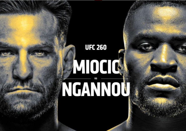 UFC 260 Payouts, Purse and Salary