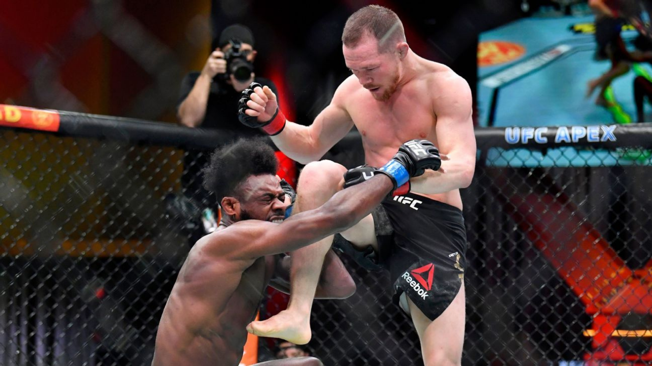 Illegal knee UFC 259