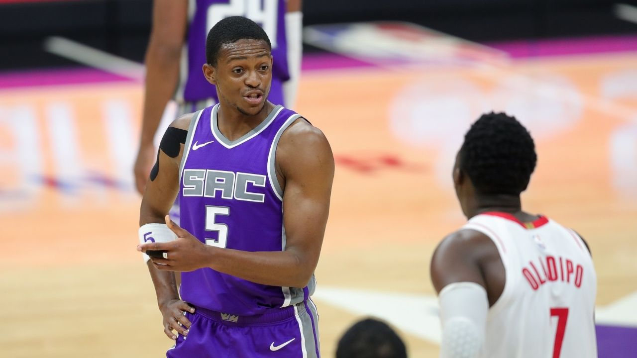 """""""Meyers Leonard, I wouldn't say s**t on a stream"""": De'Aaron Fox has some words of advice for the disgraced Miami Heat center"""