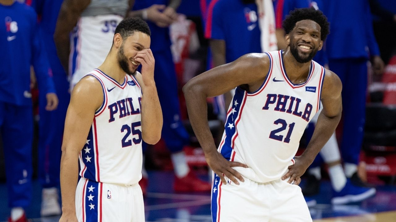 """Ben Simmons and Joel Embbid are 1A/1B for Defensive Player of the Year"": Tobias Harris heaps praise on his Sixers"