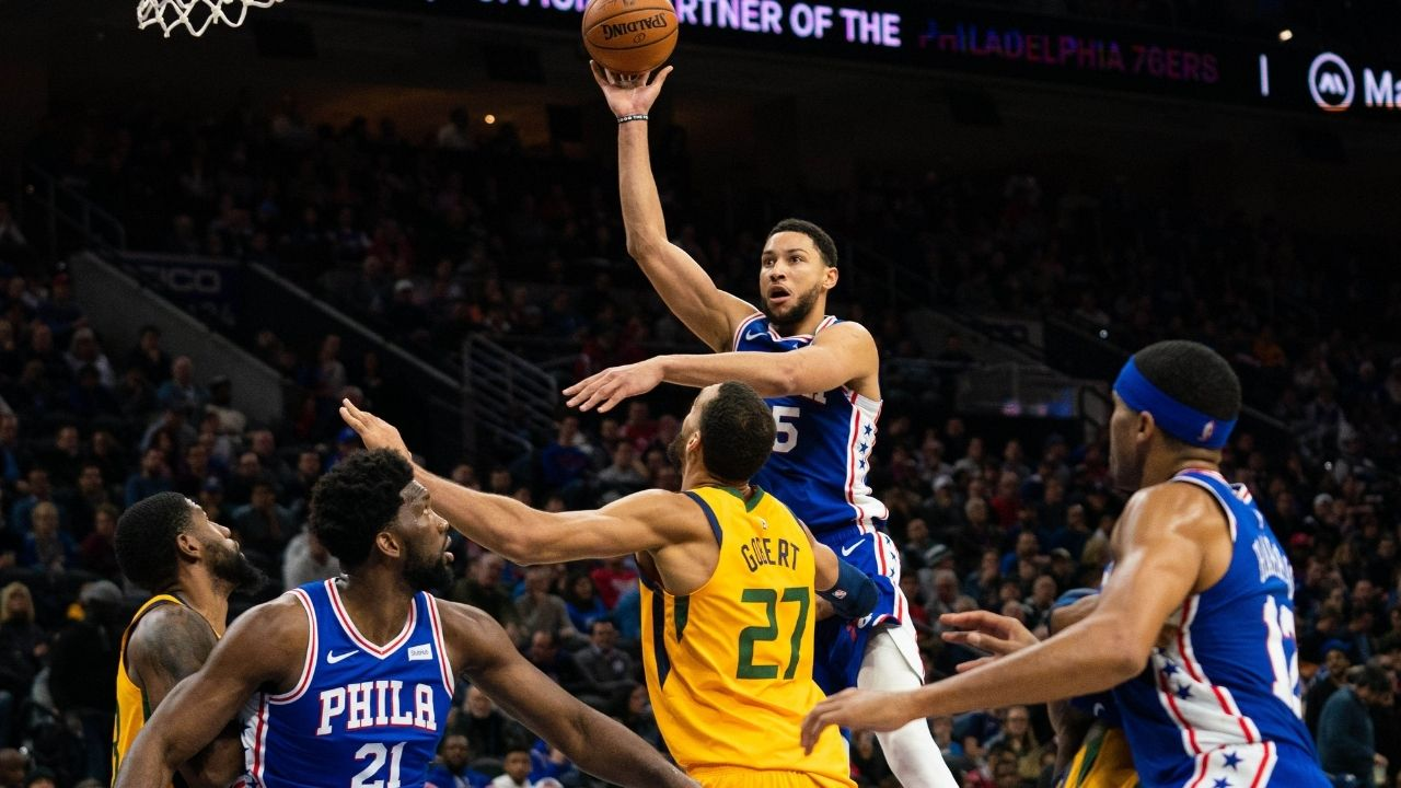 """Ben Simmons points out the weaknesses in Rudy Gobert's defensive prowess: """"I don't think he's guarding one through fives"""""""
