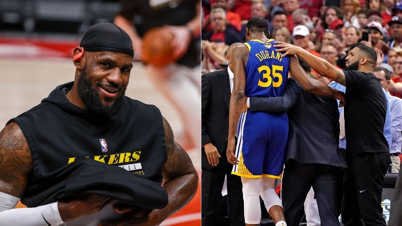 'Drake and Rick Ross just don't miss': LeBron James compares the rap duo to Warriors superstars Steph Curry and Kevin Durant