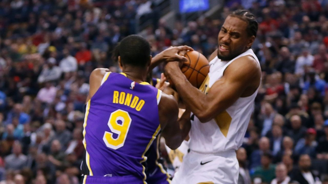 """Kawhi Leonard, Rajon Rondo and his team better show up in the playoffs!"": Stephen A Smith piles pressure on the Clippers after their deadline day trade"