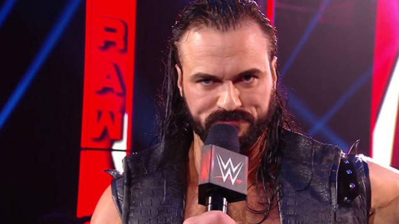 Drew McIntyre takes a dig at AEW's botched ending to Revolution
