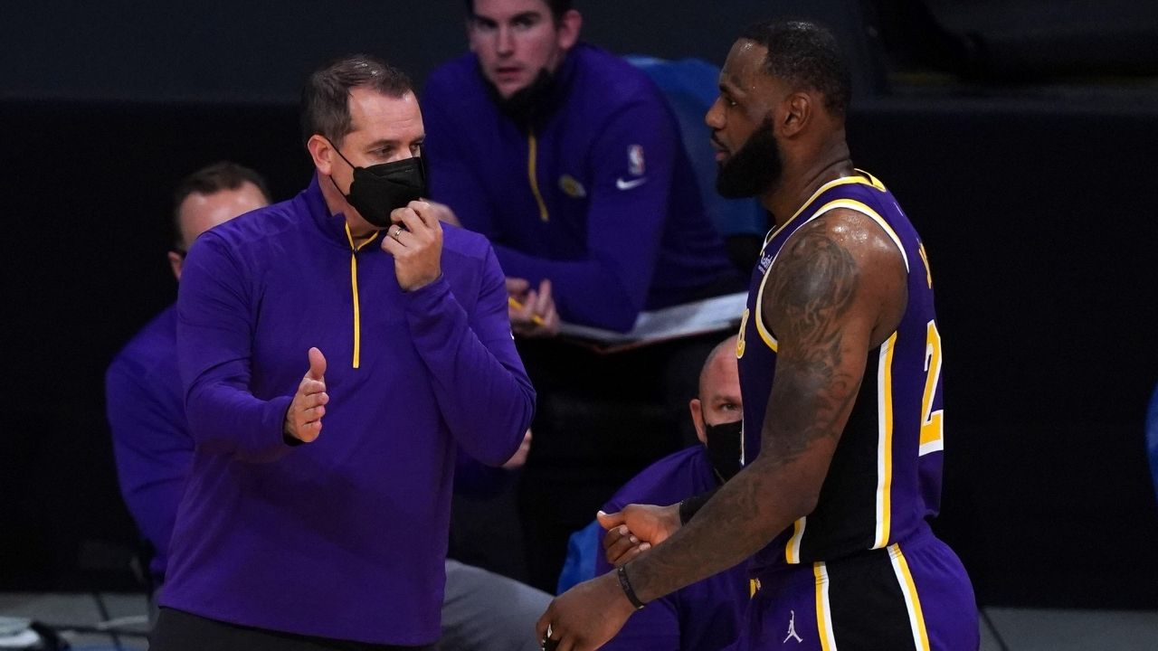 """""""LeBron James is to blame for the Brooklyn Nets superteam"""": Stephen A. Smith claims Lakers MVP is the reason for why Blake Griffin and LaMarcus Aldridge joined forces with James Harden and co."""