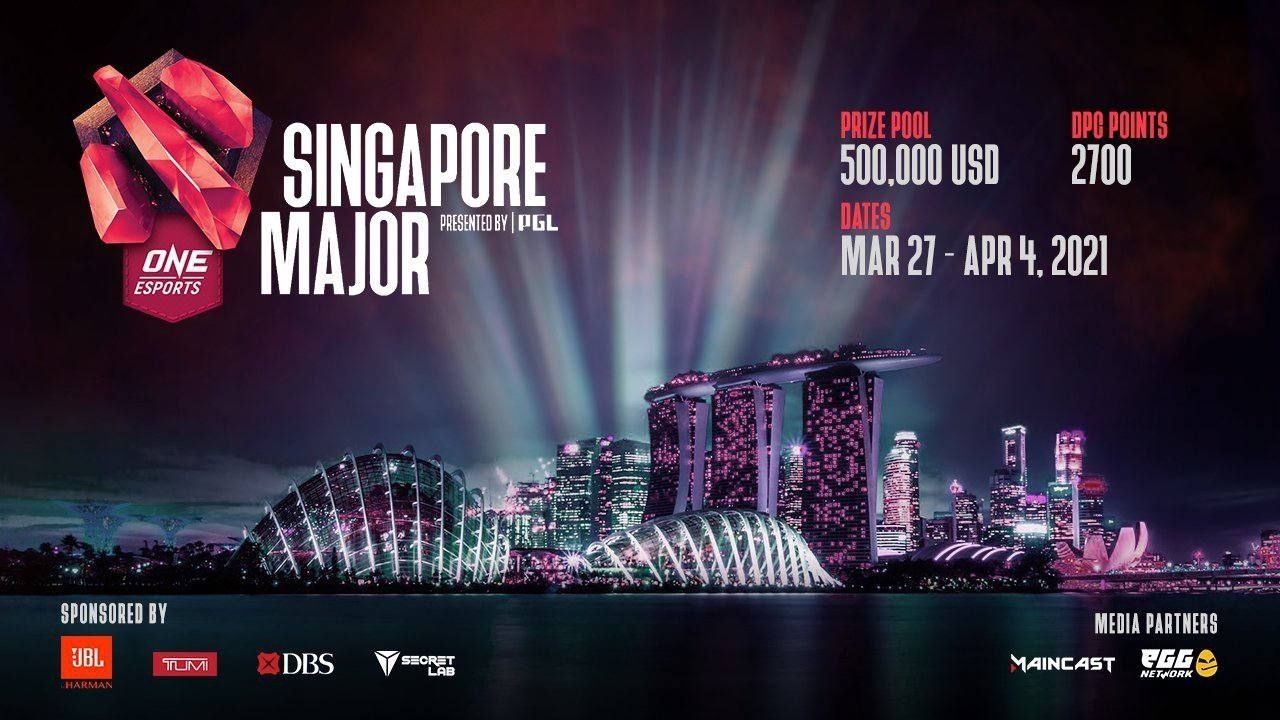 Dota 2 Singapore Major: Check out the Teams, Prize Pool, Schedule, Format and all the latest details