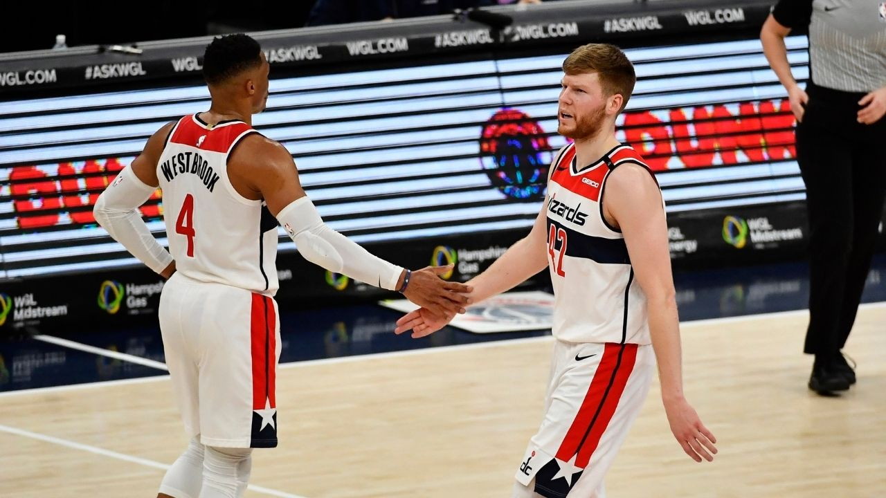 """""""Davis Bertans has been made available in trade talks"""": Washington Wizards are reportedly seeking a trade for their sharpshooting big man"""