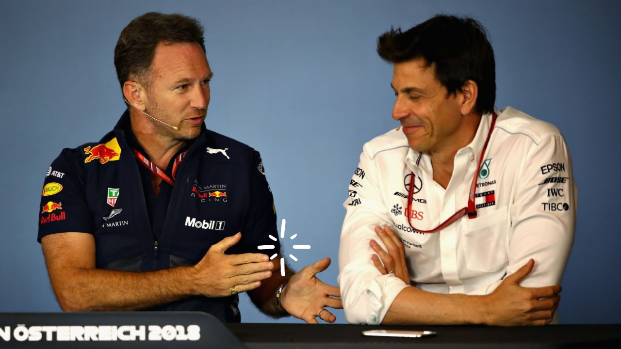 """""""Just get your f****** head down!"""" - It's Toto Wolff vs Christian Horner in Netflix's F1 special Drive to Survive"""