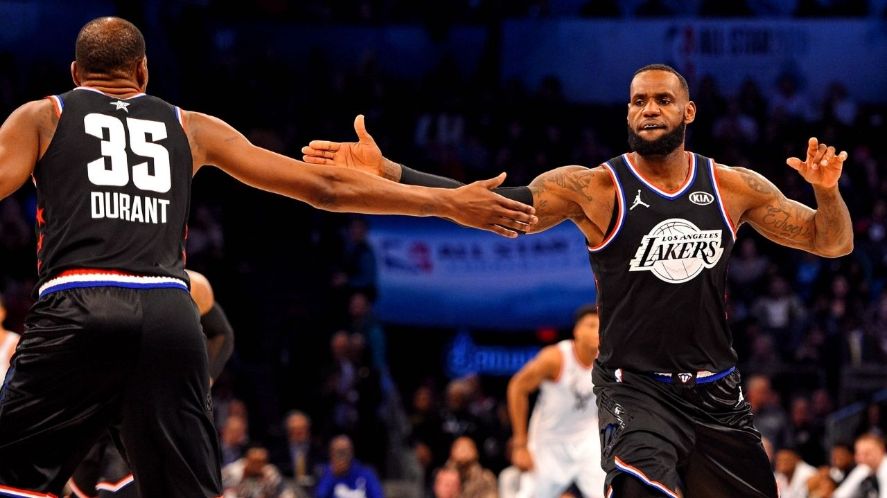 """""""Kevin Durant has played on more stacked teams than LeBron James"""": The Nets star has teamed up with more All-Stars than the Lakers superstar in the past 7 years"""
