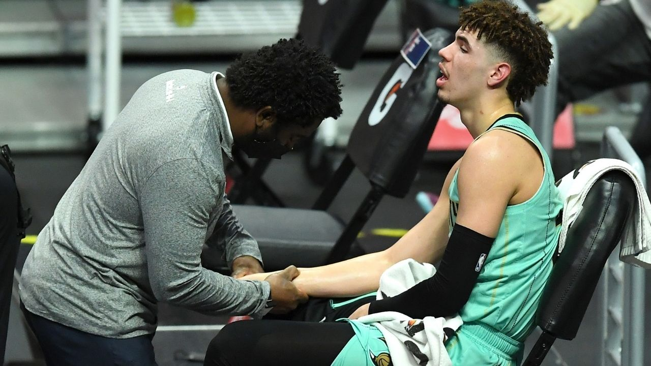 'LaMelo Ball, get well soon young fella': Former NBA champion Kendrick Perkins wishes the Hornets rookie a quick recovery from his season-ending wrist injury