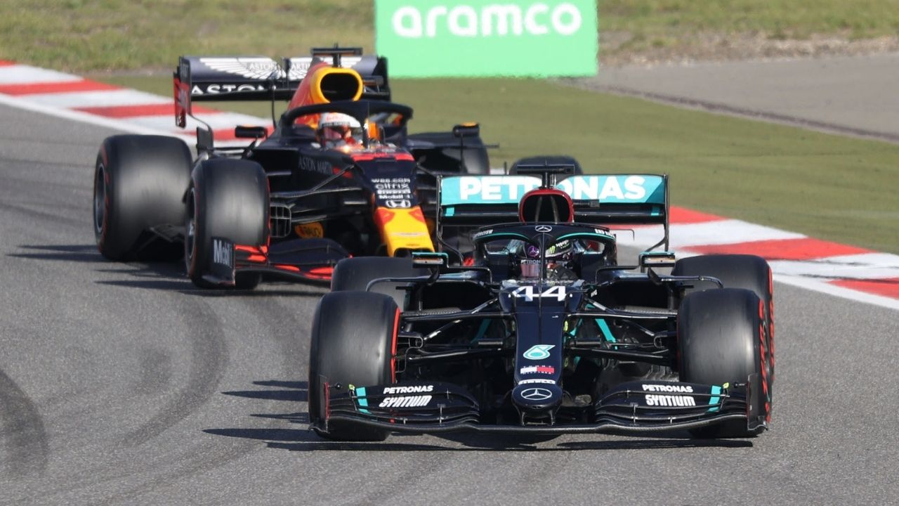 """They're going to be a different machine or animal""- Lewis Hamilton wary of Red Bull's rising might"