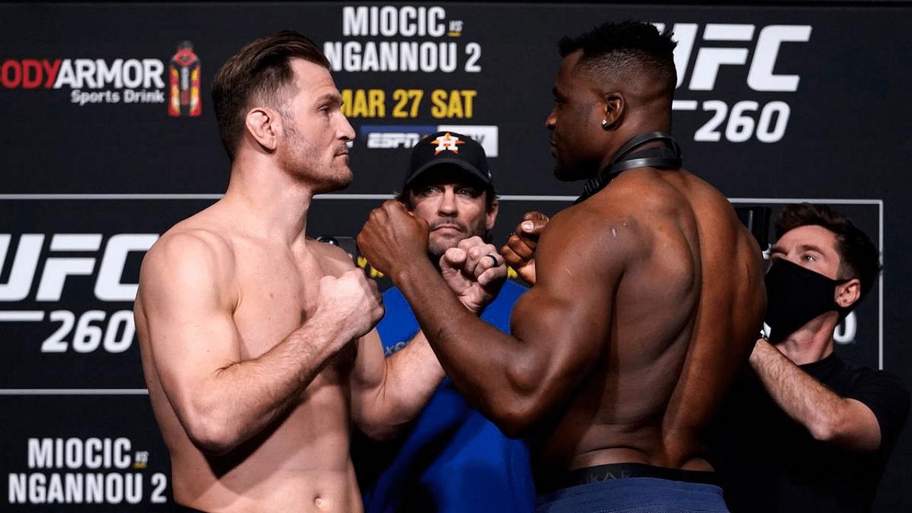 UFC 260 Miocic vs Ngannou 2