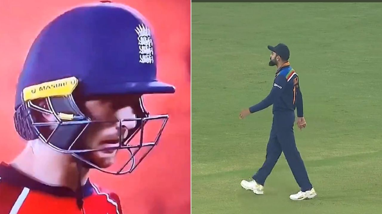 Kohli Buttler fight in 5th T20I: Virat Kohli and Jos Buttler involve in animated exchange of words in Ahmedabad T20I