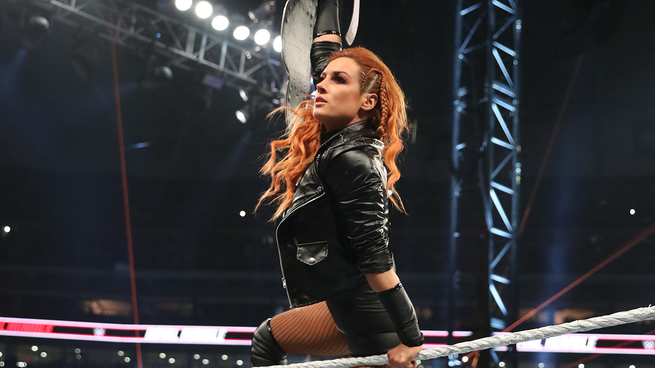 Becky Lynch teases WWE return on Night One of Wrestlemania 37