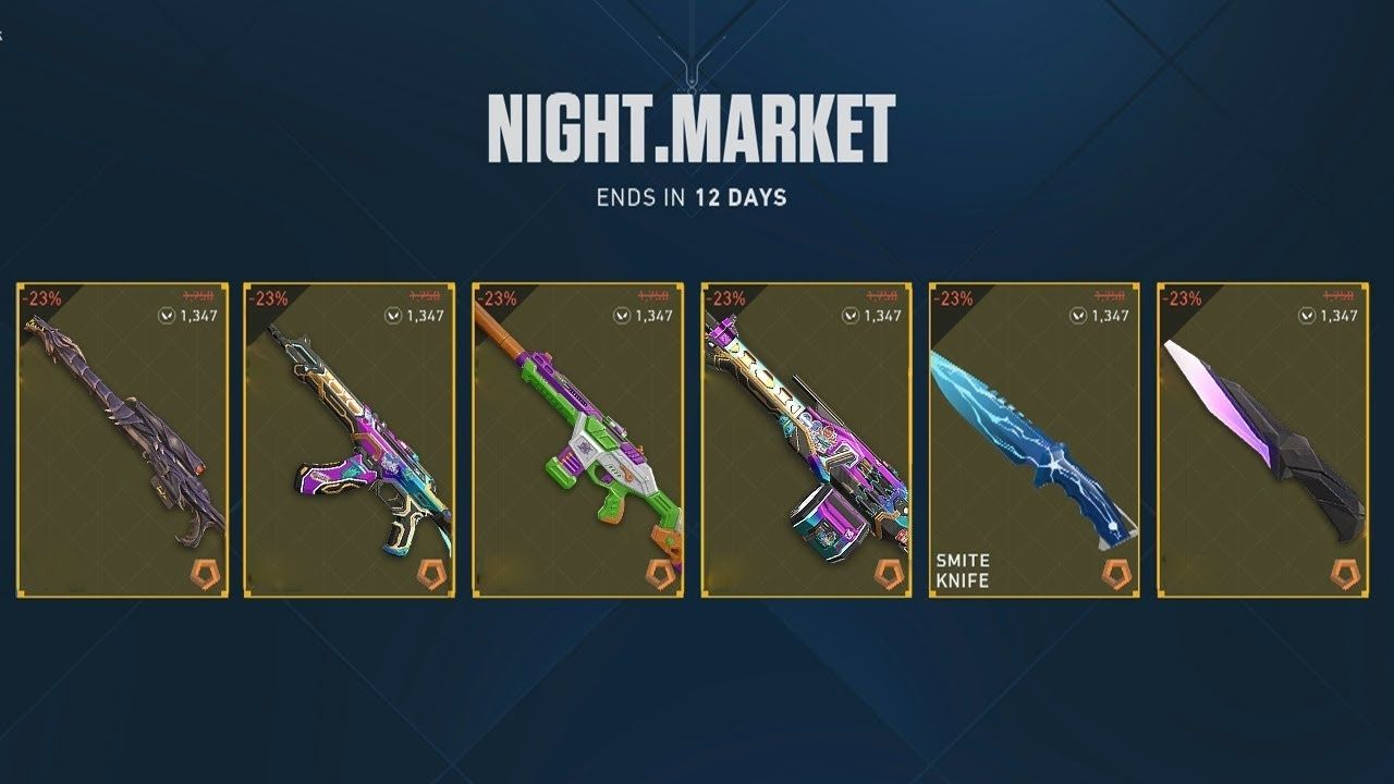 What is Night Market Valorant : Does the Night Market change or Reset Valorant?
