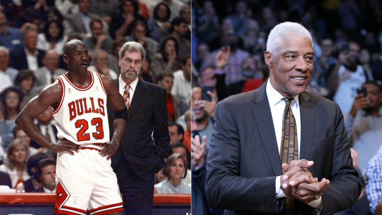 """""""Julius Erving is a grumpy old man!"""": Skip Bayless says Dr. J is out of his mind for leaving out Michael Jordan from his All-Time NBA First team"""