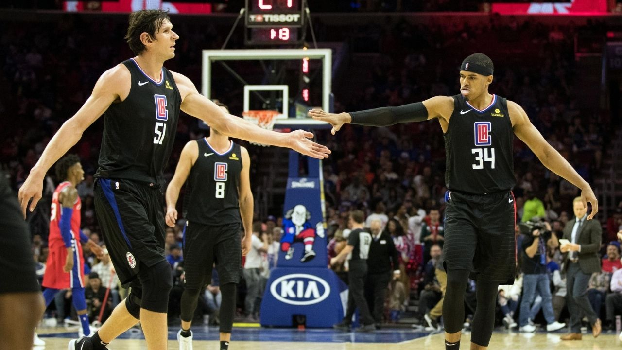 """Tobias Harris and I get along because we are two people with caring hearts"": Boban Marjanovic explains why he is such great friends with the Sixers star"