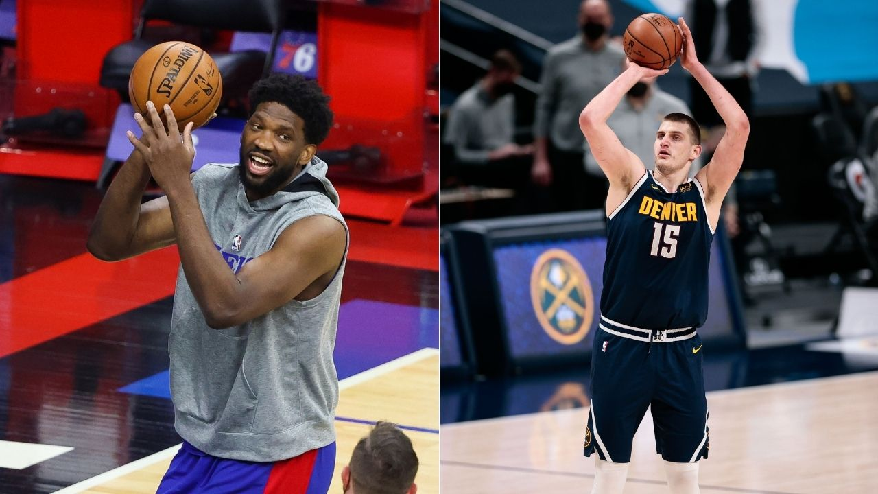"""Joel Embiid is better than Nikola Jokic"": Shaquille O'Neal crowns Sixers superstar with 2021 MVP over Nuggets big man"