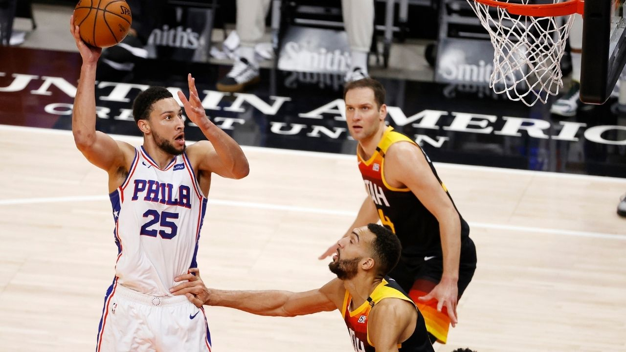 """""""I dropped 42 on Rudy Gobert and I'm not supposed to be a scorer"""": Ben Simmons tears apart the Jazz star's argument for Defensive Player of the Year honors this year"""