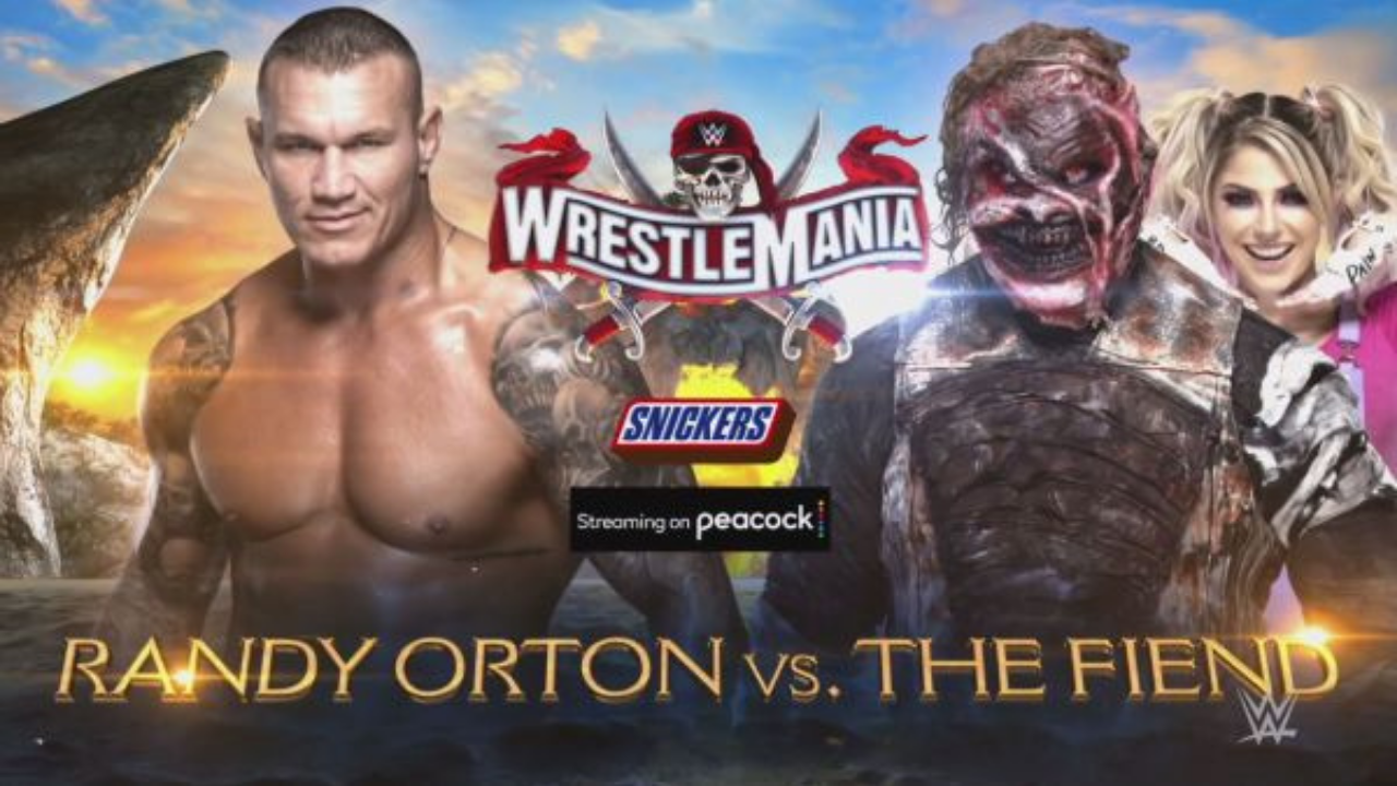 The winner of Randy Orton vs The Fiend at Wrestlemania 37 revealed