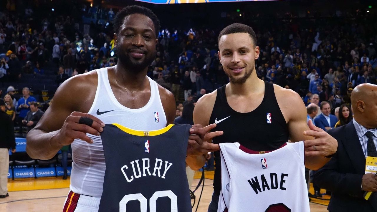 """""""Stephen Curry is just impossible to guard"""": Dwyane Wade is nothing but praise for the Warriors' superstar on his record breaking performances"""