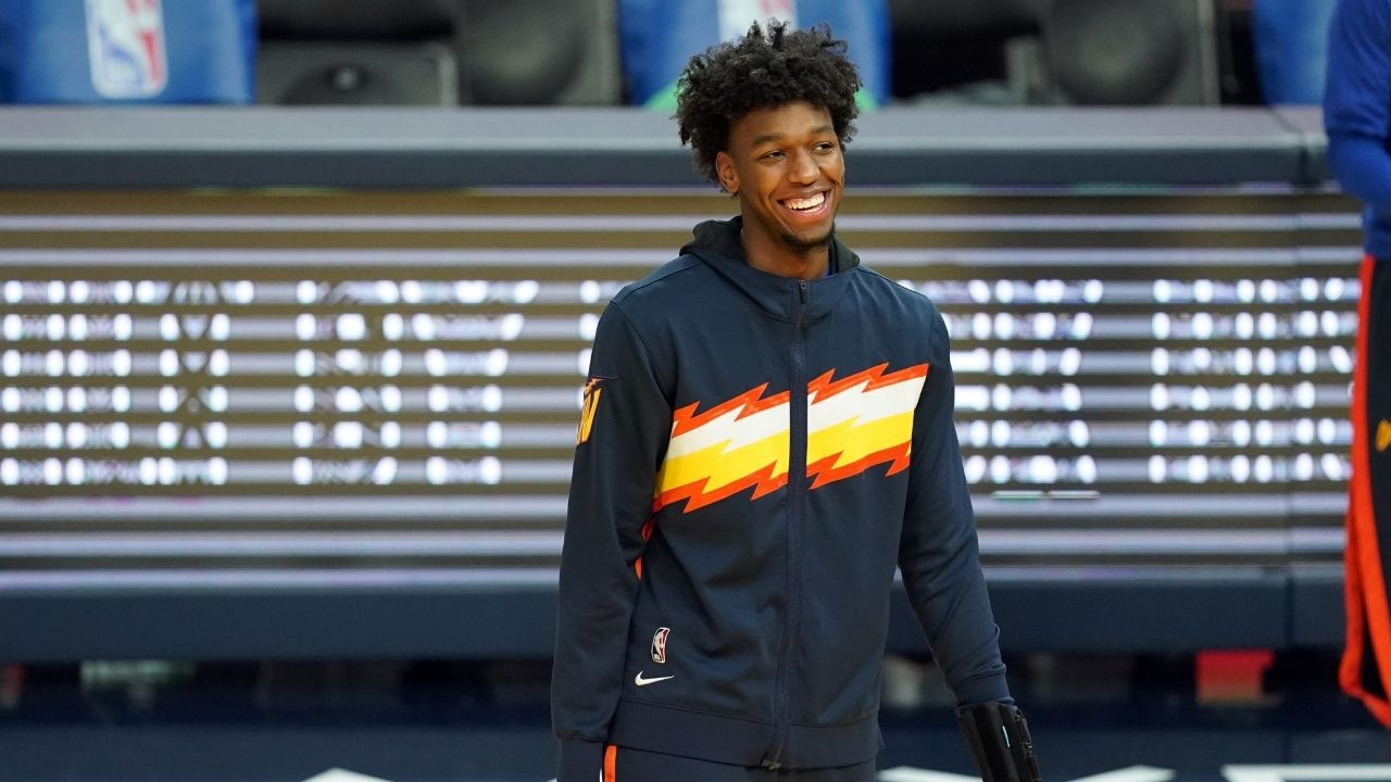 """""""I talk to Kevin Durant every day"""": James Wiseman reveals how the Nets star with Kyrie Irving is guiding him on his Warriors journey"""