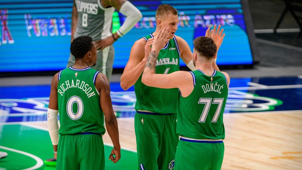 """""""Luka Doncic and Kristaps Porzingis have a dust-up relationship"""": Mark Cuban admits frostiness between his Mavericks stars off the court"""