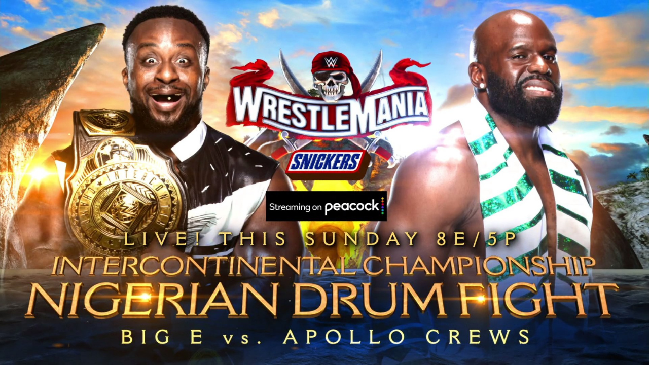 What are the rules of Nigerian Drum Fight at WWE Wrestlemania 37
