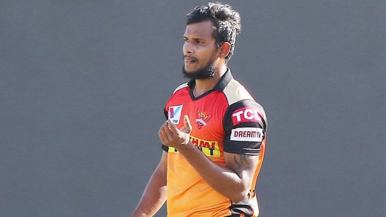T Natarajan injury update: What happened to Natarajan in IPL 2021?