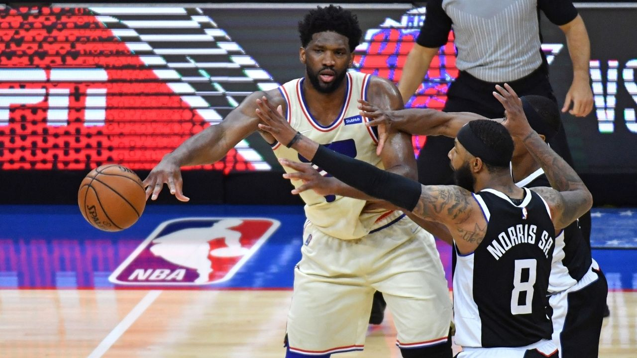 """Joel Embiid was putting LeBron James to shame"": Skip Bayless claims the Sixers star is 'running away' with this year's MVP after their win against Kawhi Leonard's Clippers"
