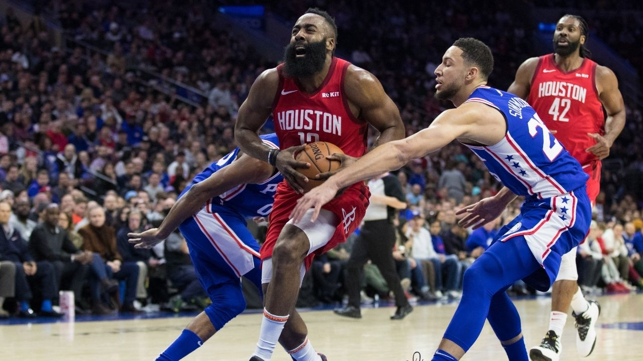 """""""James Harden has been a better point guard than Ben Simmons"""": Chris Broussard goes off on Sixers star for claiming he sees no rivalry against Kevin Durant and the Nets"""