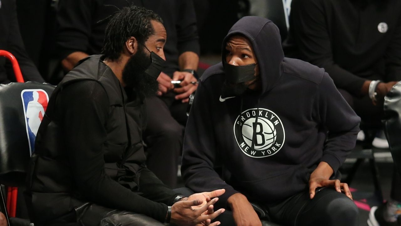 """""""They're chanting 'Kevin Durant sucks' for the right reasons"""": Joel Embiid defends Sixers fans for hilarious 'KD sucks' chant during their game against Nets"""